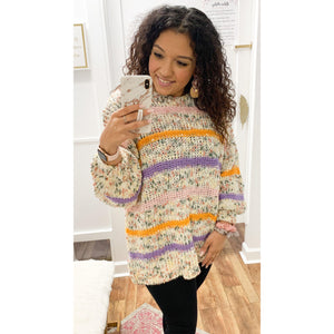 Colorful Dreams Knit Sweater