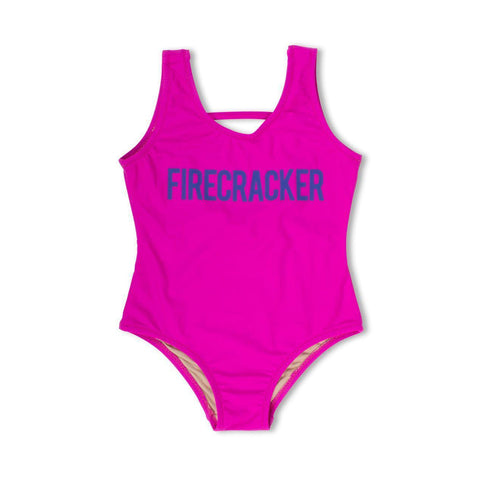 Scoop Firecracker Swimsuit