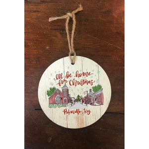 Downtown Pikeville Christmas Ornament