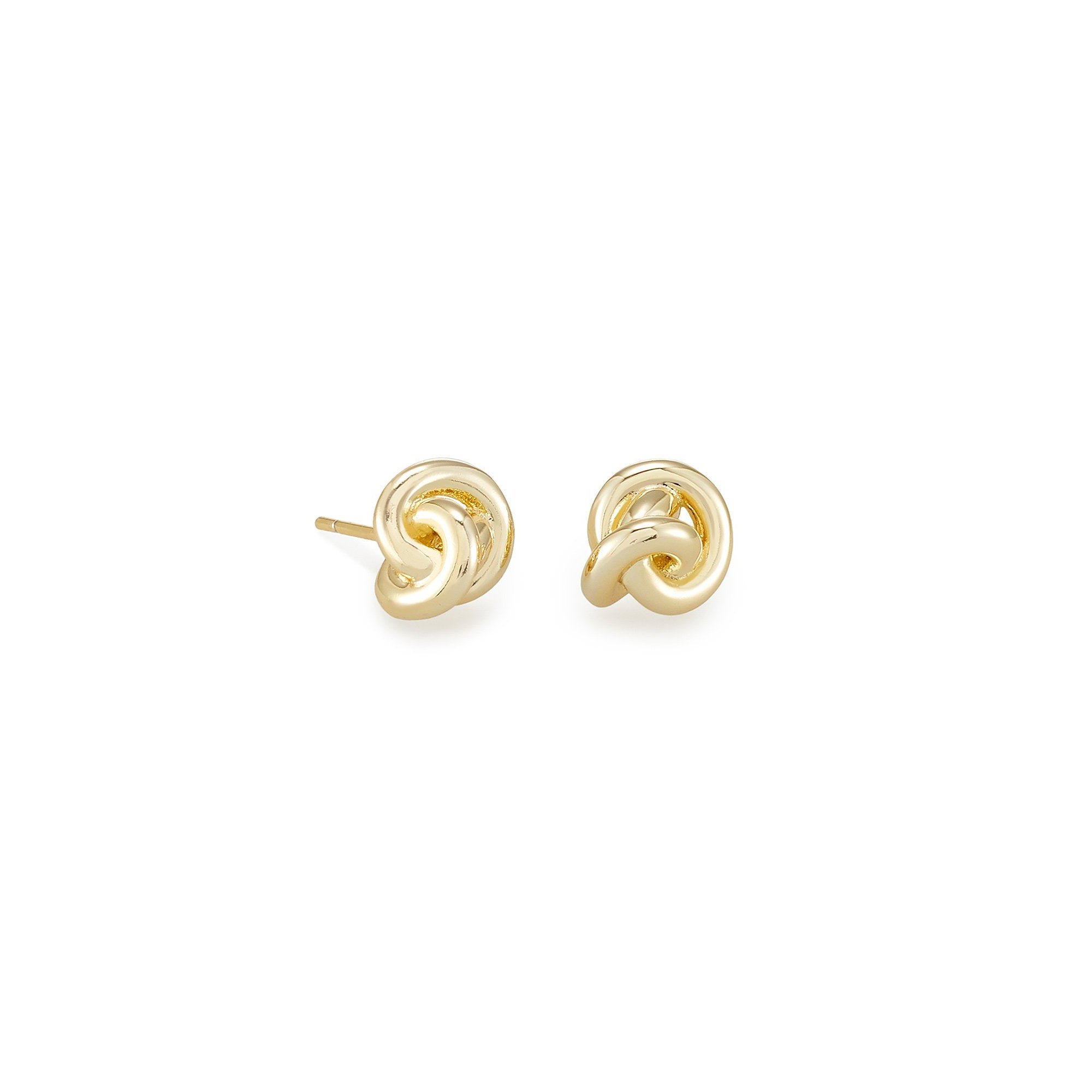 Presleigh Stud Earrings Gold