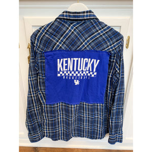 Vintage Plaid KY Basketball