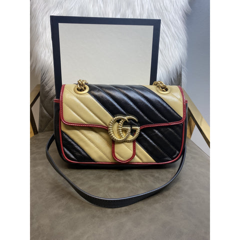 Gucci GG Marmont Mini Multicolor Bag