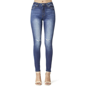 Dark Low Rise Skinny