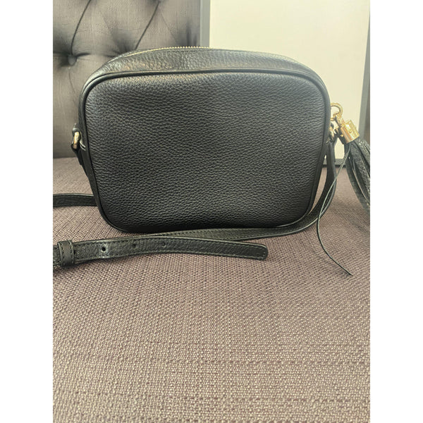 Gucci Soho Leather Bag Black