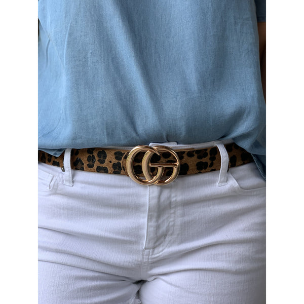 Gorgeous G Leopard Belt
