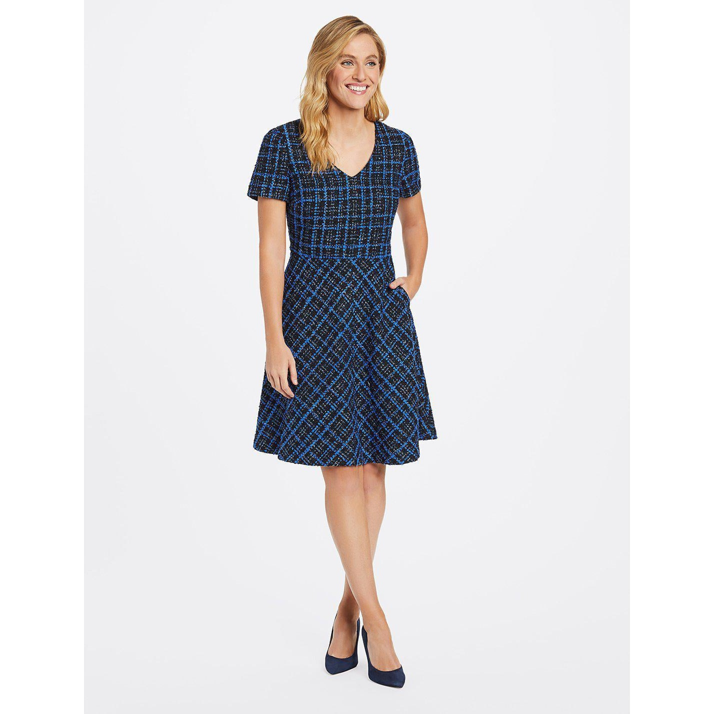 Tweed A-Line Dress