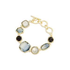 Natalia Link Bracelet Steel Grey Mix