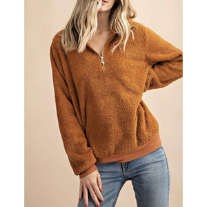 Teddy Bear Plush Pullover