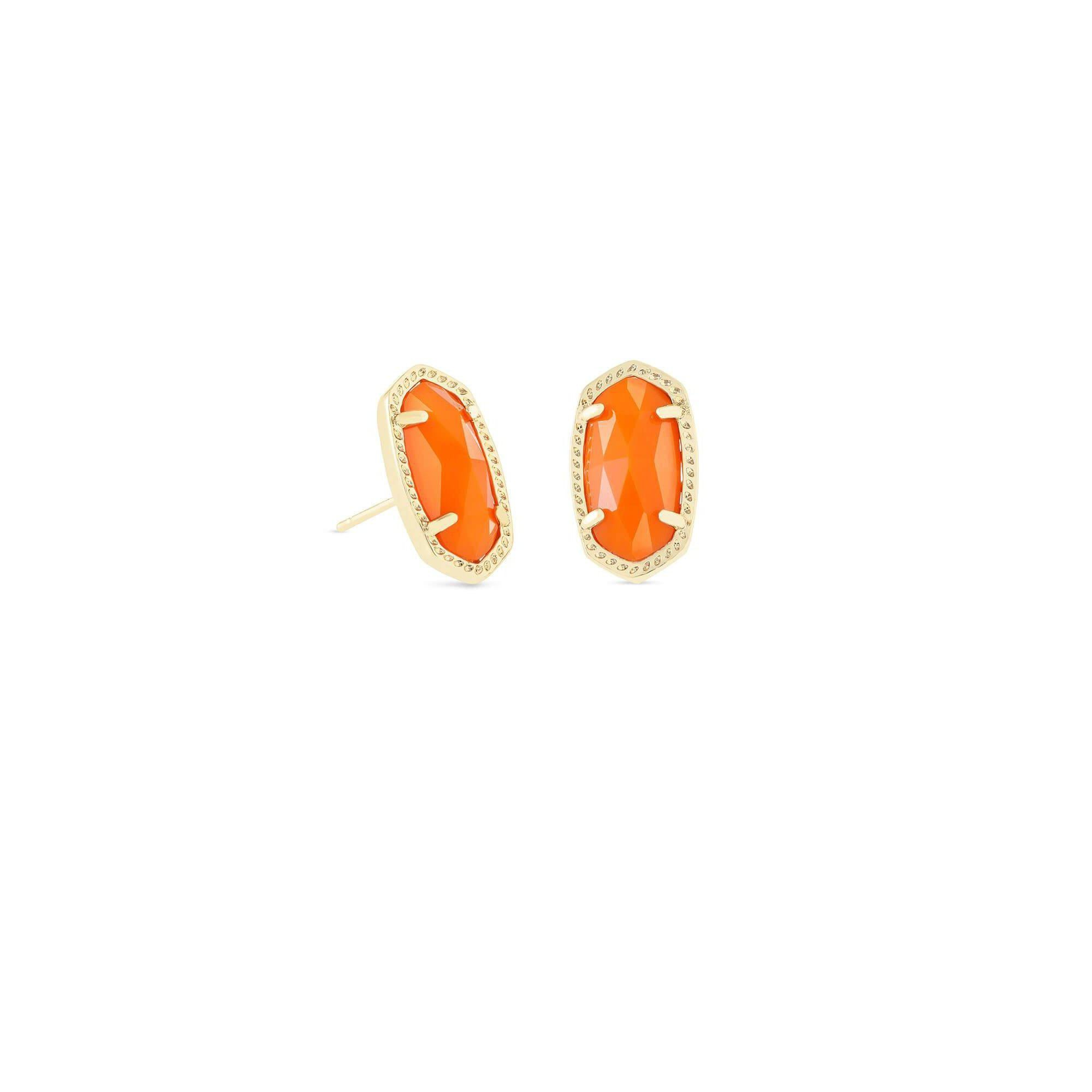 KS Ellie Earrings in Orange Gold