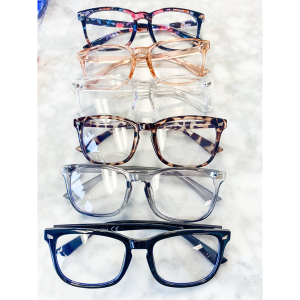 Classic Rectangle Blue Light Blockers