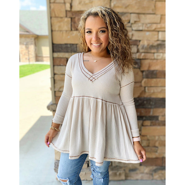 Simply Taupe Top