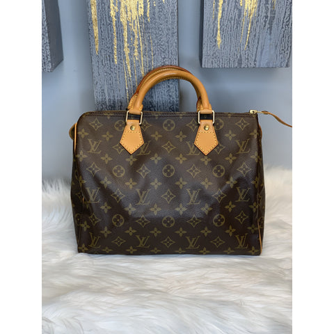 Louis Vuitton Monogram Speedy 30 *