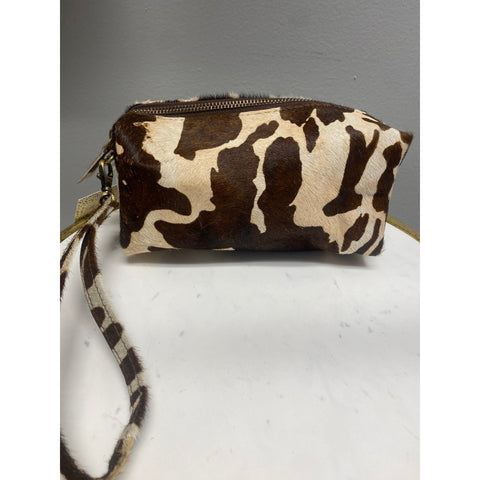 Petra Toiletry Bag Cow Print