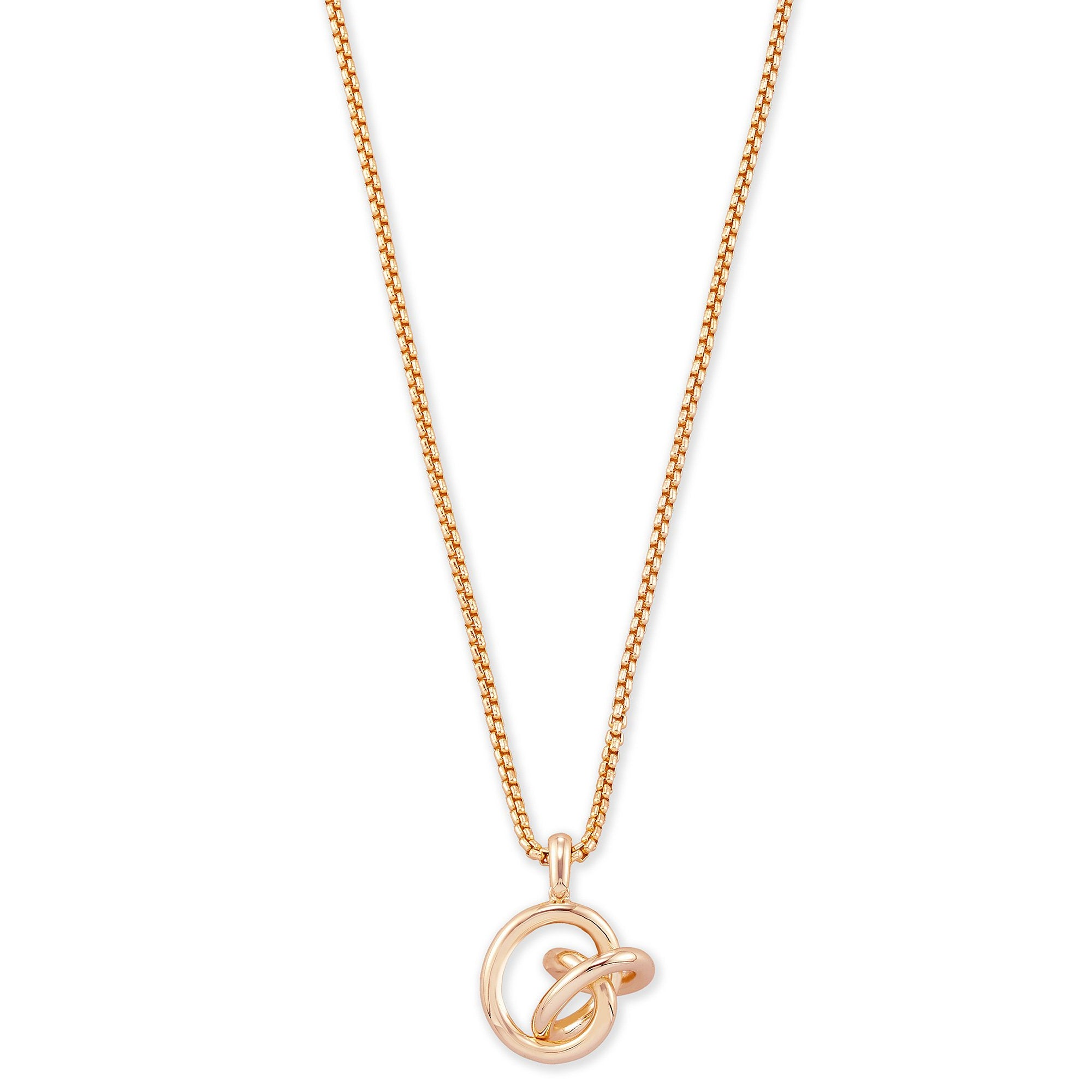 Presleigh Small Long Pendant Rose Gold