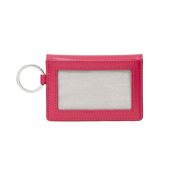 O-Venture Leather Tickled Pink ID Case