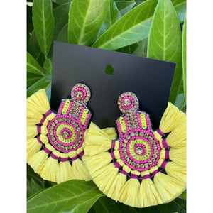 Sunkissed Staement Earrings