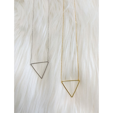 Lucky Triangle Necklace