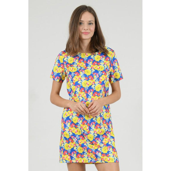 Orchid Printed Shift Dress