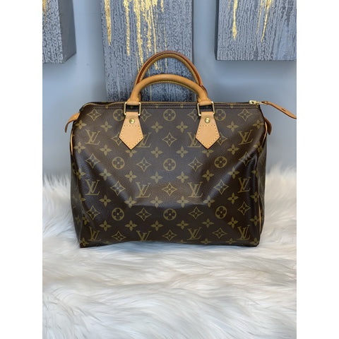 Louis Vuitton Monogram Speedy 30 **