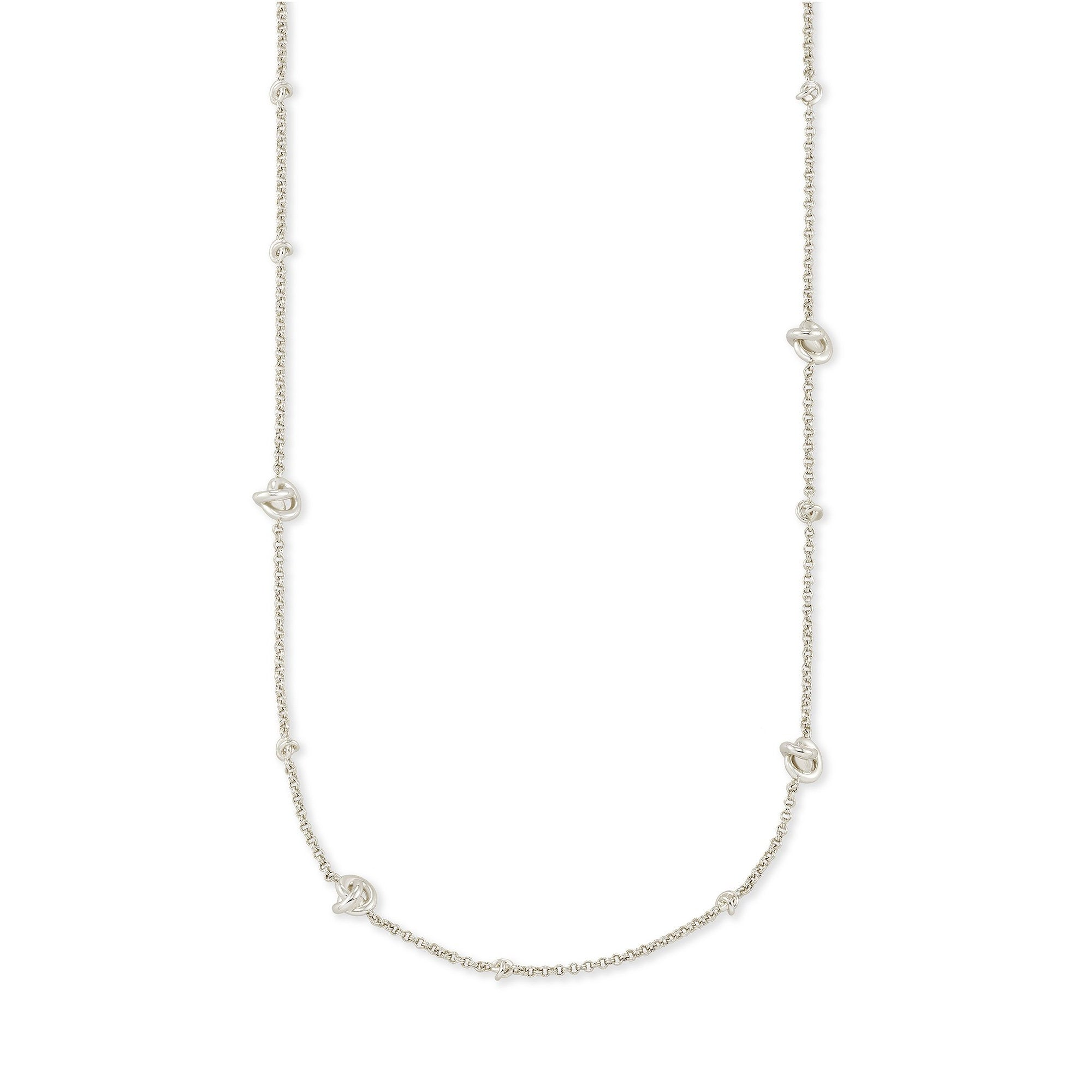 Presleigh Adjustable Necklace in Silver
