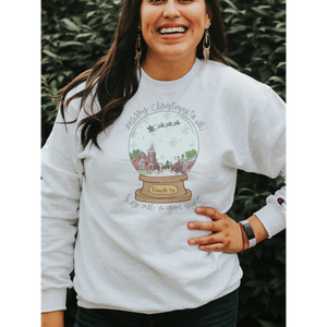 PREORDER Pikeville Snow Globe Christmas Sweatshirt