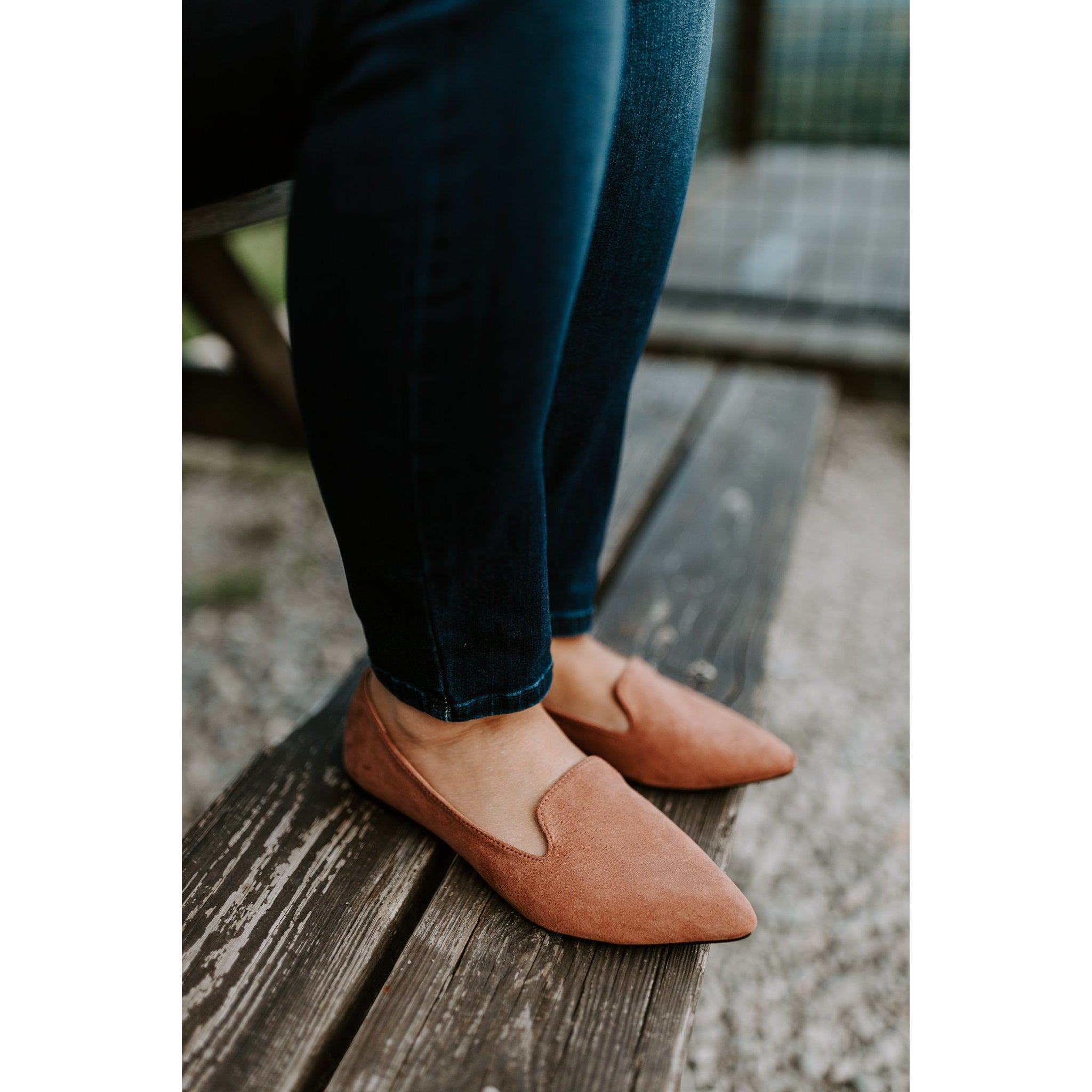 Flat Out Fall Suede Flats