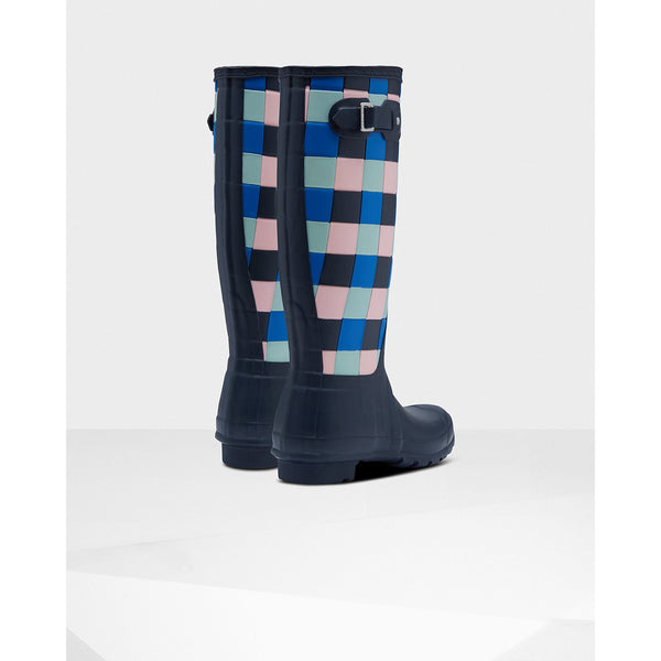 Women's Original Tall Gingham Print Rain Boot