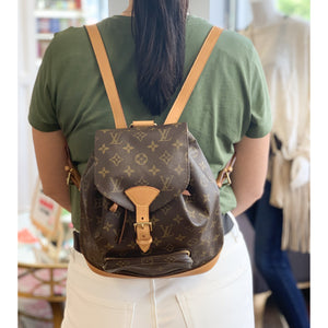 LV Montsouris MM Backpack