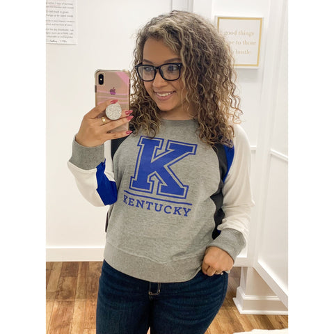 Curvy Kentucky Big K Sweatshirt