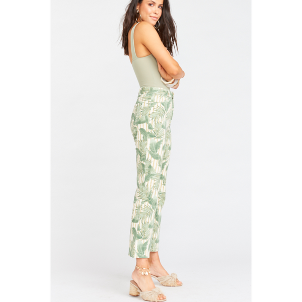 Cropped Hawn Trouser