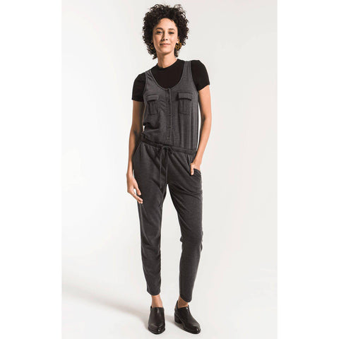 The Utility Jumpsuit - Black