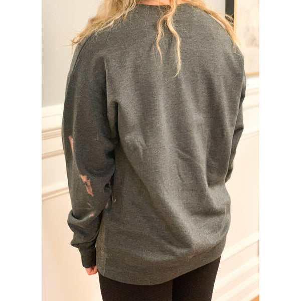 Living Luxe Acid Wash Sweatshirt