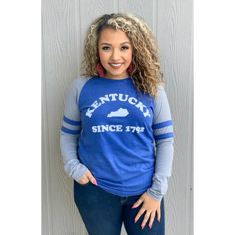Kentucky Piper Raglan LS