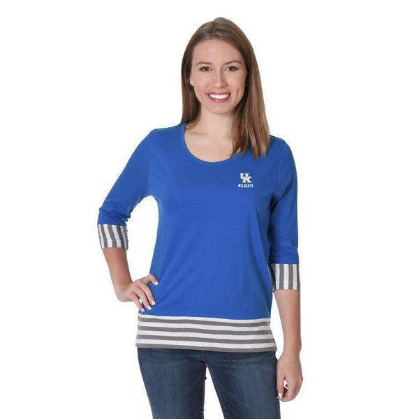Wildcats Striped Tee