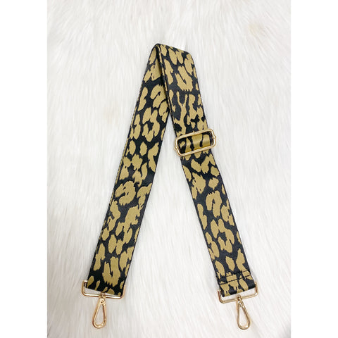 Black/Khaki Animal Print