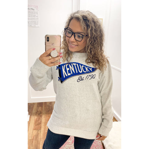 Curvy KY Pennant Long Sleeve
