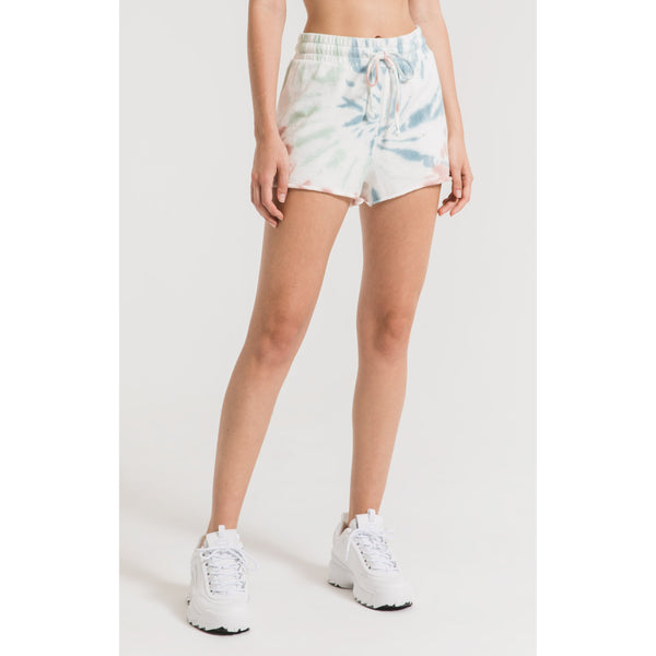 The Multi-Color Tie Dye Shorts