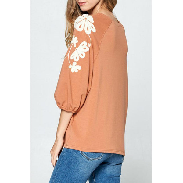 Chic Perspective Top