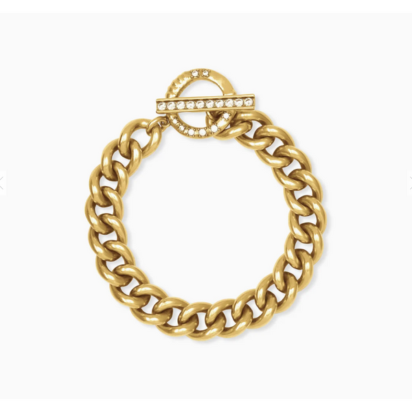 Whitley Chain Bracelet in Vintage Gold