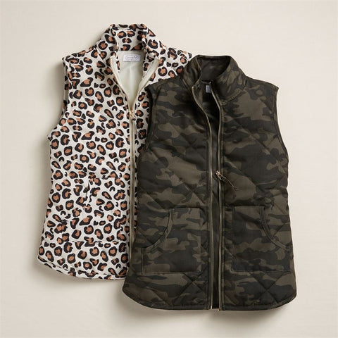 Brodie Quilted Camo Vest