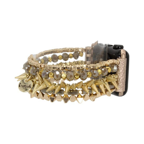 Erimish Apple Watch Band - Spike Gold