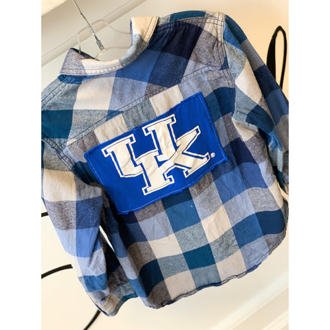 Vintage Youth Kentucky Dark Plaid