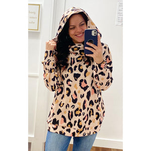 On Her Own Leopard Pullover