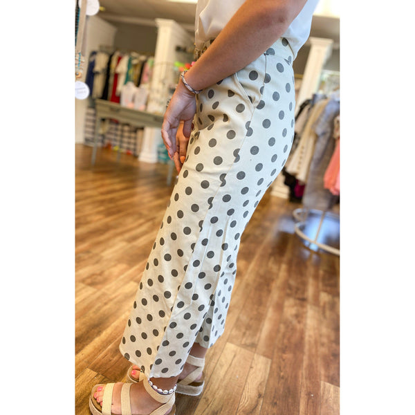 Polka Dotted Trousers