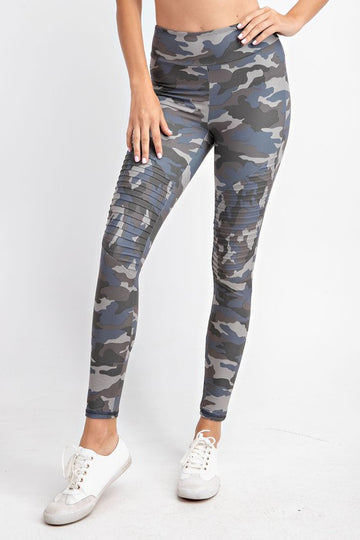 FLIP A COIN MOTO LEGGINGS