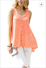 GO WITH THE FLOW NEON TANK TOP