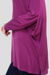 PURPLE RAIN TUNIC TOP