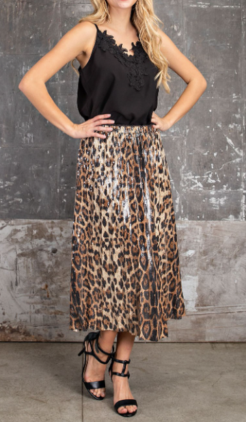The Wild Woman Sequin Skirt