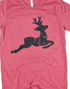 REINDEER GRAPHIC TEE - DOOR BUSTER