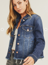 Risen Dark Denim Jacket